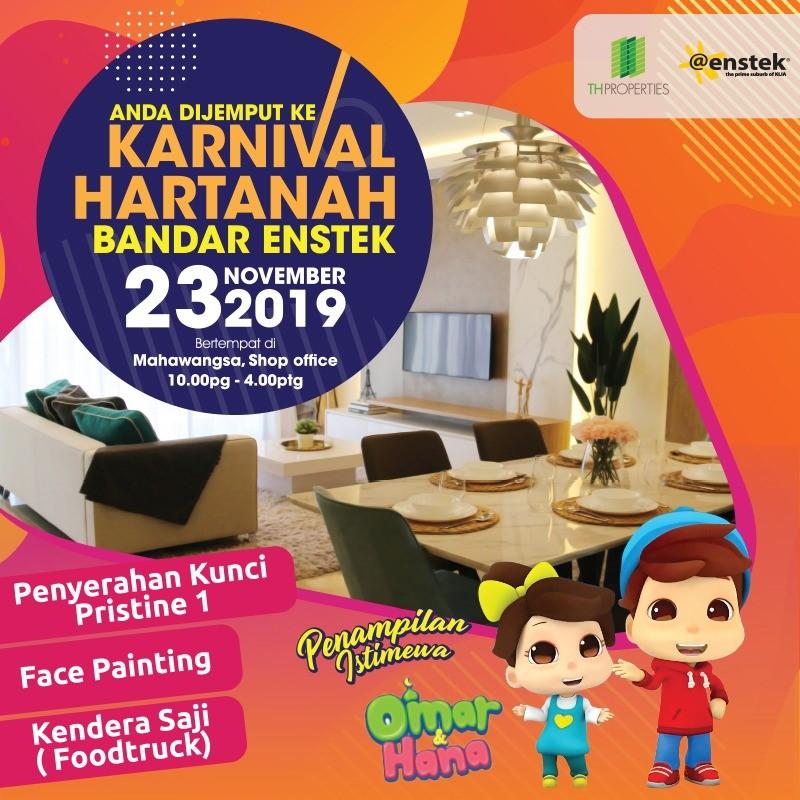 Karnival Hartanah Bandar Enstek bersama Omar & Hana pada 23 November 2019